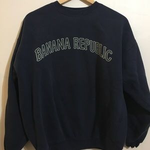 Vintage 90s Banana Republic sweatshirt